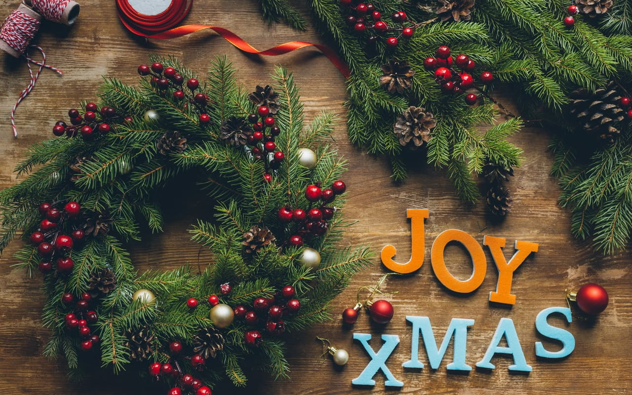 ein schönes Weihnachtsfest, Fruchtschmuck, Früchte, Petra Pelz Design natürlich, Silent Island