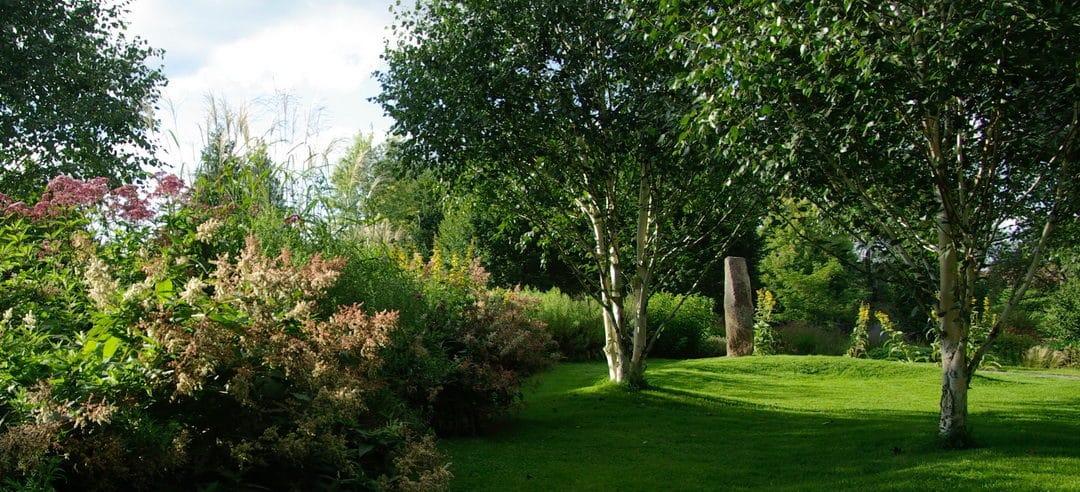 Forsthaus Espol – ein junger, individuell interpretierter Landschaftsgarten