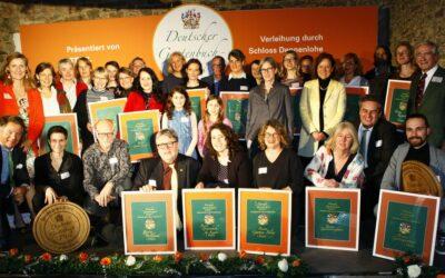 Verleihung des Deutschen Gartenbuchpreises 2020 auf Schloss Dennenlohe
